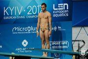 Чемпіонат Європи зі стрибків у воду стартував у Києві