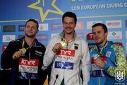 Колодий завоевал серебро чемпионата Европы по прыжкам в воду