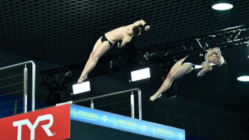 Прыжки в воду. Украина завоевала первое золото на ЧЕ в Киеве