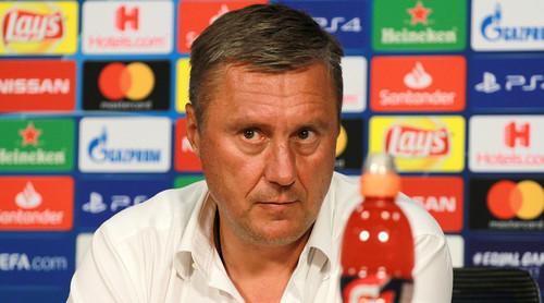 ХАЦКЕВИЧ: «Второй тайм вселяет оптимизм перед ответной игрой в Киеве»