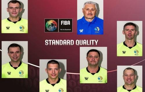 9 украинских арбитров имеют статус ФИБА