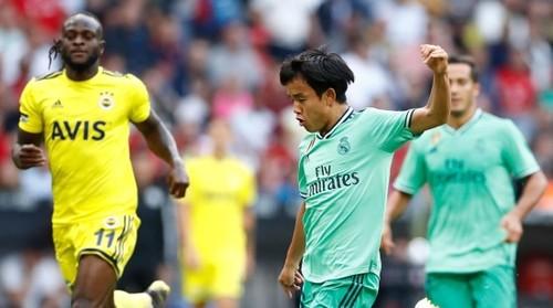 Лунин остался в запасе на контрольный матч Реала