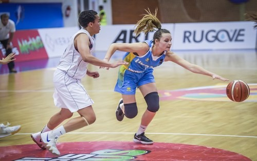 Женский Евробаскет U-20. Украина разгромила Косово