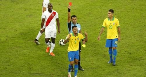 Габриэль Жезус дисквалифицирован на 2 месяца выступлений за сборную