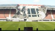 Матч АЗ - Маріуполь можуть перенести через обвал даху стадіону