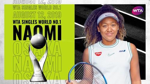 Осака в понеділок знову очолить рейтинг-лист WTA