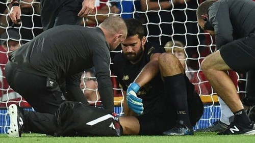 Вратарь Ливерпуля Алиссон получил травму и пропустит Суперкубок УЕФА