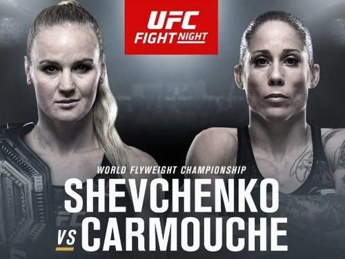 Где смотреть онлайн бой UFC Fight Night 156. Шевченко – Лиз Кармуш