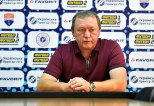 Владимир ШАРАН: «Будем показывать более содержательный футбол»