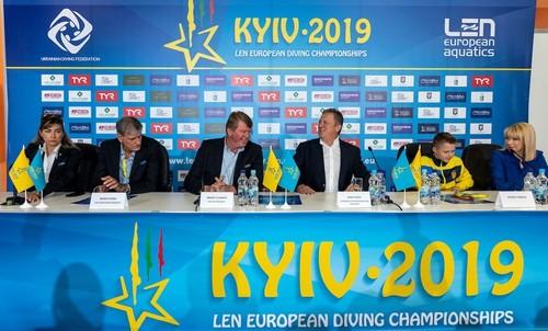 Украина заняла 2-е место в медальном зачете ЧЕ-2019 по прыжкам в воду