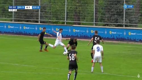 Динамо U-19 – Заря U-19 – 4:1. Видео голов матча