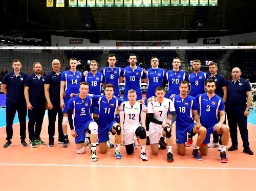 Мужская сборной Украины готовится к чемпионату Европы