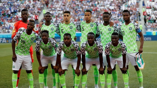 Збірна Нігерії оголосила склад на матч проти України