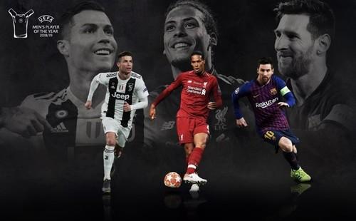 Стала известна тройка претендентов на награду УЕФА лучшему игроку года