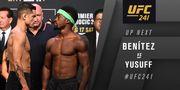 UFC 241. Габриэль Бенитес – Содик Юсуфф. Видео боя
