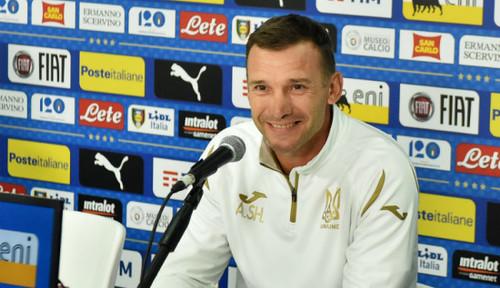 Шевченко объявил состав сборной Украины на Литву и Нигерию
