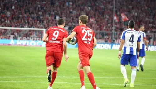 Бавария открыла сезон Бундеслиги домашней ничьей