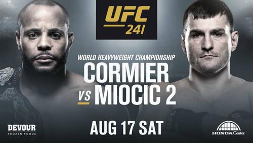 Где смотреть онлайн UFC 241: Дэниел Кормье – Стипе Миочич