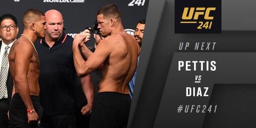 UFC 241. Энтони Петтис – Нэйт Диас. Видео боя