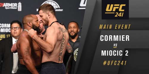 UFC 241. Даниэль Кормье - Стипе Миочич. Видео боя