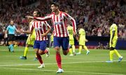 Атлетико обыграл Хетафе в матче с двумя удалениями