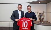 КОУТИНЬО: «Для меня это новый вызов в одном из лучших клубов Европы»