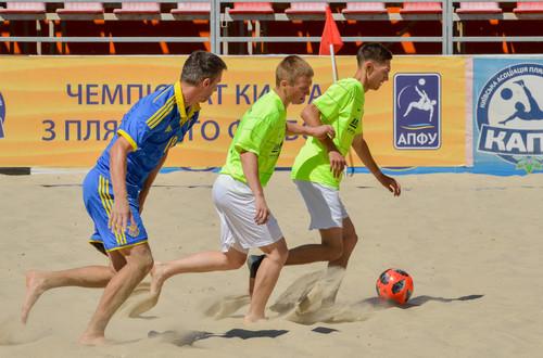 Киевская Альтернатива стала чемпионом Украины по пляжному футболу