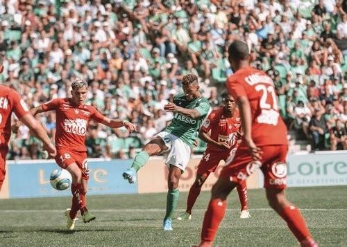 Сент-Этьен – Брест – 1:1. Видео голов и обзор матча
