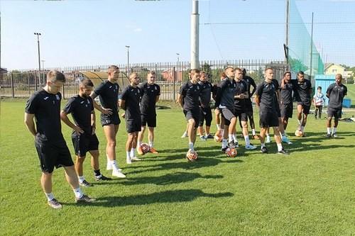 Олимпик провел тренировку под руководством Климовского