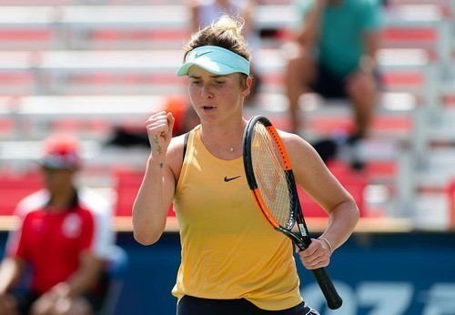 Свитолина тренируется на кортах US Open