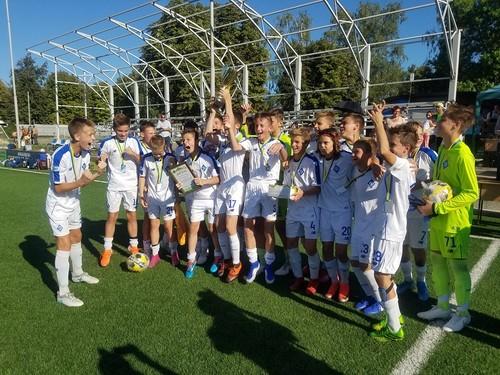 Динамо U-14 обыграло Шахтер U-14 в финале турнира Первая столица