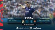 Реал упустил победу в игре Ла Лиги против Вальядолида