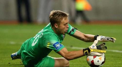 Никита Шевченко третий раз парировал пенальти в еврокубках