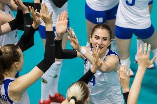 Результаты игр первого этапа женского чемпионата Европы