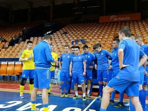 Футзал. Украина (U-19) - Португалия (U-19). Смотреть онлайн. LIVE