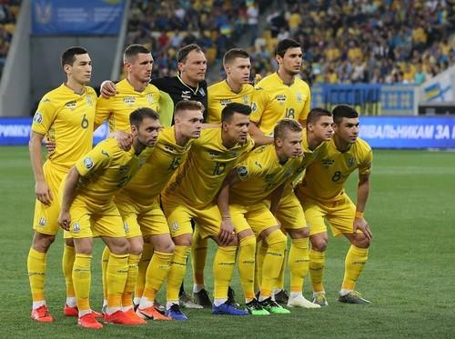 ВИДЕО ДНЯ. Сборная Украины поздравила с Днем Независимости