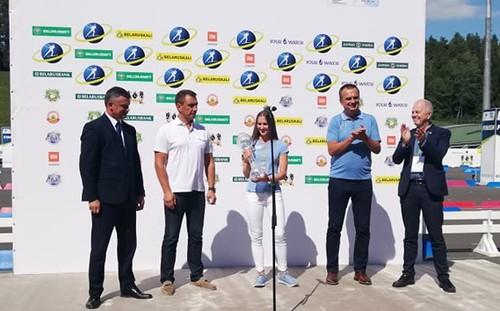 Домрачева получила Малый Кубок мира четырехлетней давности