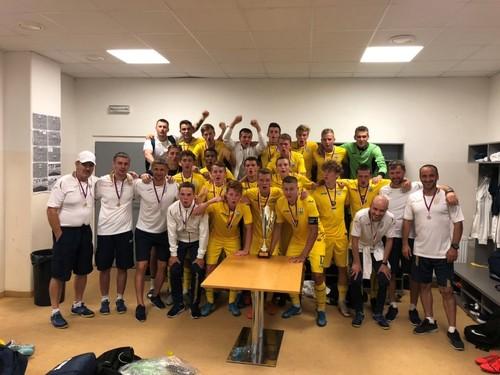 Сборная Украины U-18 стала победителем Мемориала Вацлава Ежека