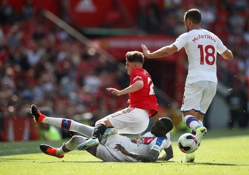 Кристал Пэлас обыграл Манчестер Юнайтед впервые в истории АПЛ