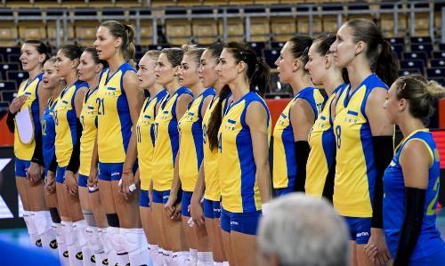 Где смотреть матч чемпионата Европы по волейболу Украина - Италия