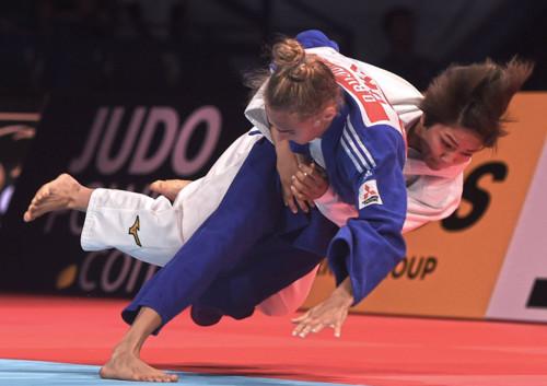 Білодід стала наймолодшою дворазовою чемпіонкою світу з дзюдо