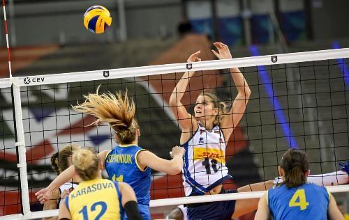 Украина снова проиграла на женском чемпионате Европы