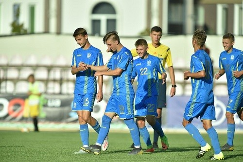 Украина U-17 победила Азербайджан на турнире имени Банникова