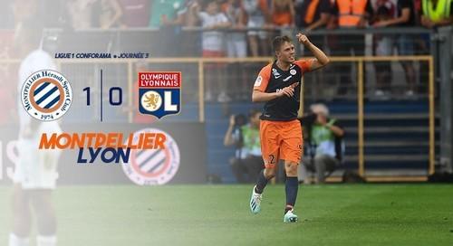 Монпелье – Лион – 1:0. Видео гола и обзор матча