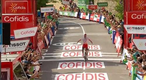 Вуэльта. Хесус Эррада выиграл шестой этап