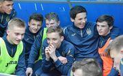 Сборная Украины U-15 с победы начала Турнир развития УЕФА