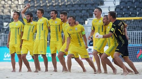 Украина обыграла Азербайджан в отборе на Всемирные пляжные игры