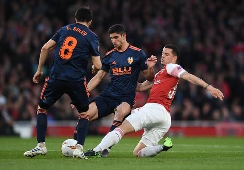 Валенсия – Арсенал - 2:4. Видео голов и обзор матча