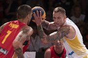 Сборная Украины вышла в плей-офф чемпионата Европы 3х3