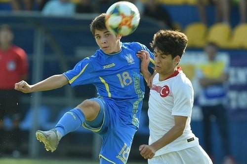 Сборная Украины U-17 проиграла Турции в финале турнира Банникова